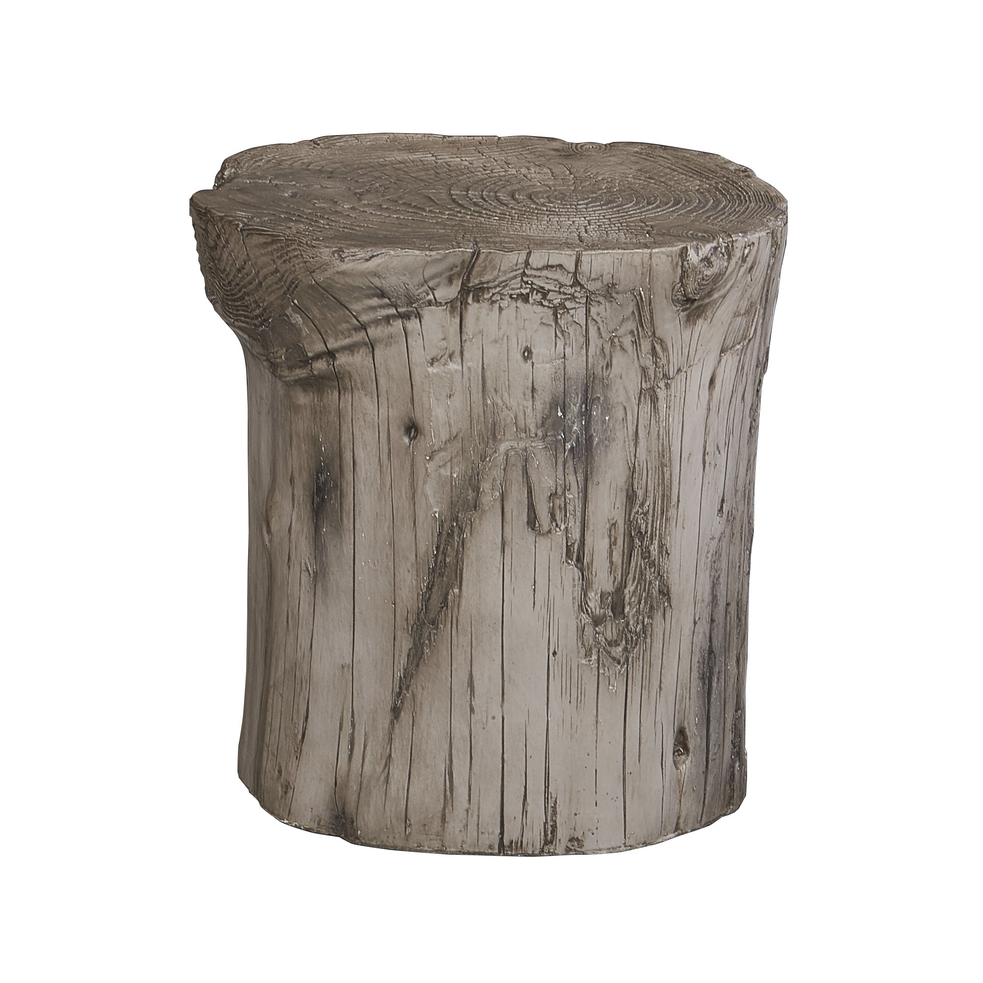 hunter grey tree stump accent table free shipping today wood winsome battery operated touch lamps fire pit mirrored bedside next entry console black storage cabinet multi colored