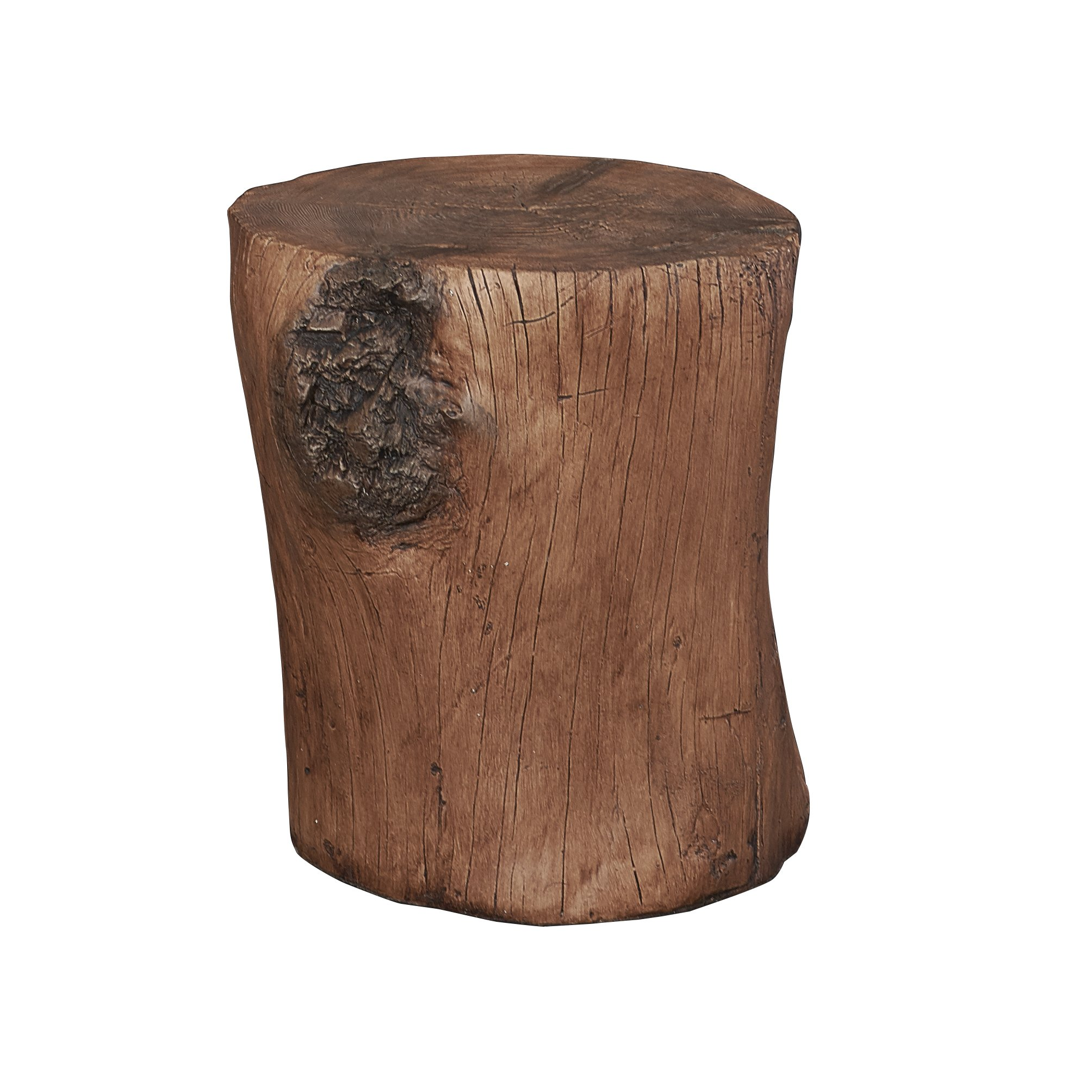 hunter tree stump accent table free shipping today wood multi colored coffee counter height dining chairs painted nightstands target high top battery operated touch lamps small