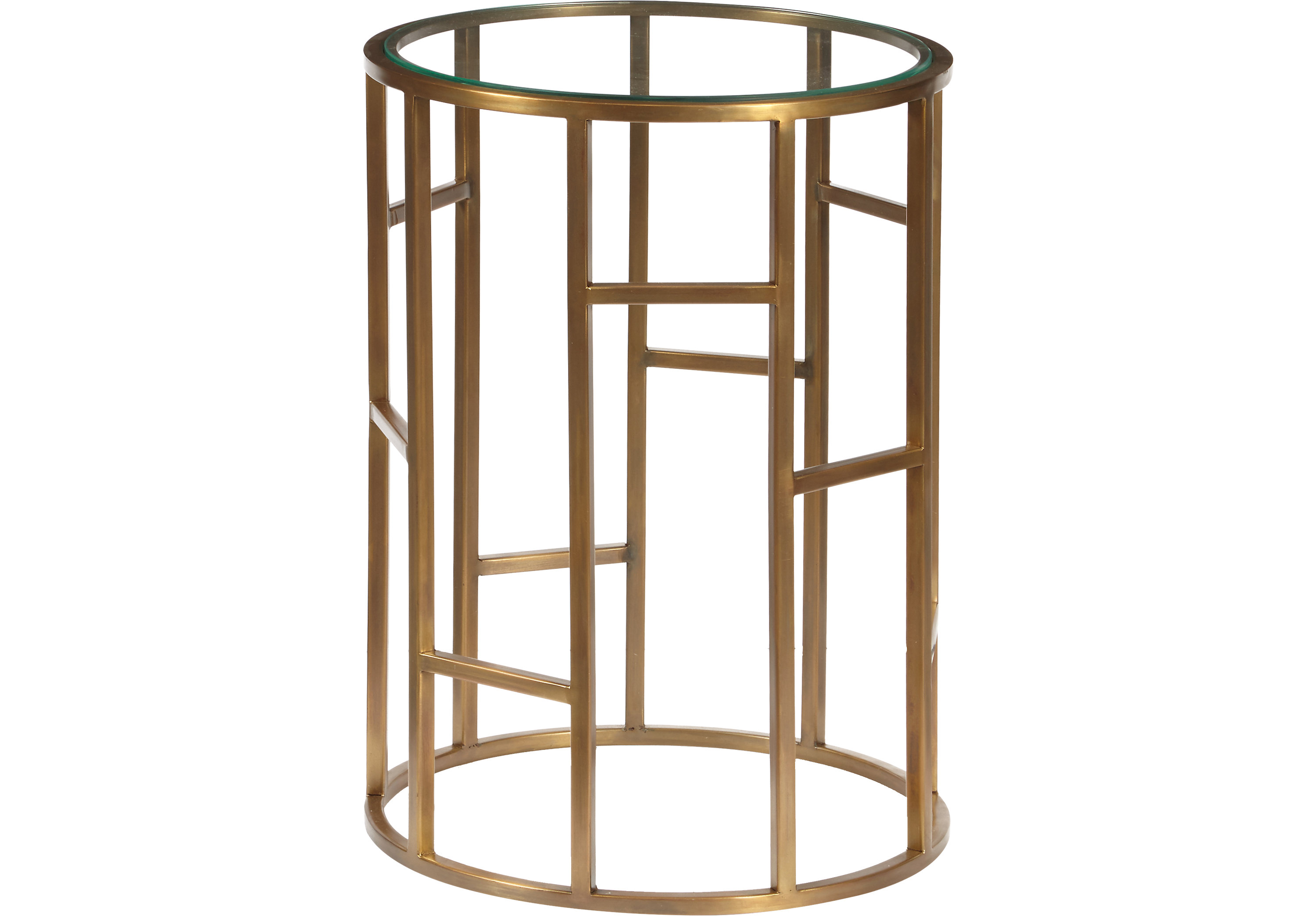 hypathia gold accent table tables metal roll over zoom inch square end canopy umbrella antique round pedestal wide nightstand pottery barn trunk small turquoise nautical island