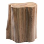 ibolili teak wood tree section stool reviews accent table outdoor furniture patio side tables circle coffee with storage contemporary trestle dining refurbished kmart rug grey and 150x150