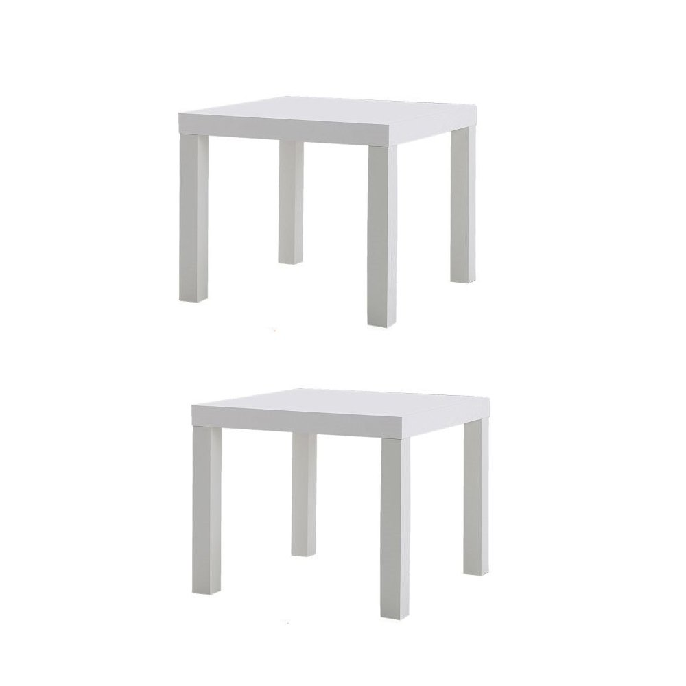 ikea table end side white pack lack kitchen dining outdoor accent small leather chairs for spaces grey chair resin patio with umbrella hole cloth covers floor lamps extendable
