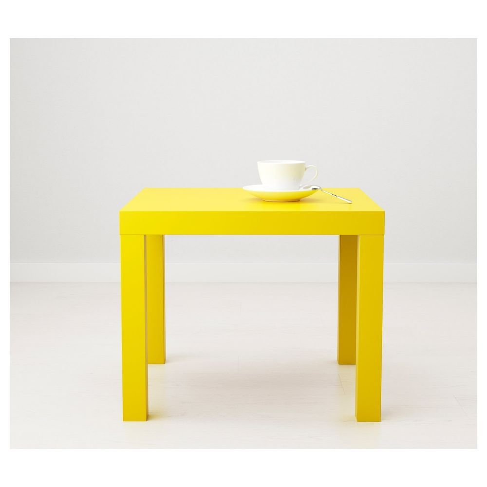 ikea yellow side table modern corner coffee end accent nightstand date wednesday pdt bath and beyond salt lamp tables for small rooms cast aluminum patio outside grill mirrored