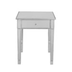 illusions collection mirrored accent table hollywood pottery barn circle pier imports furniture nate berkus acacia wood what sheesham brass and marble side reclaimed console cream 150x150
