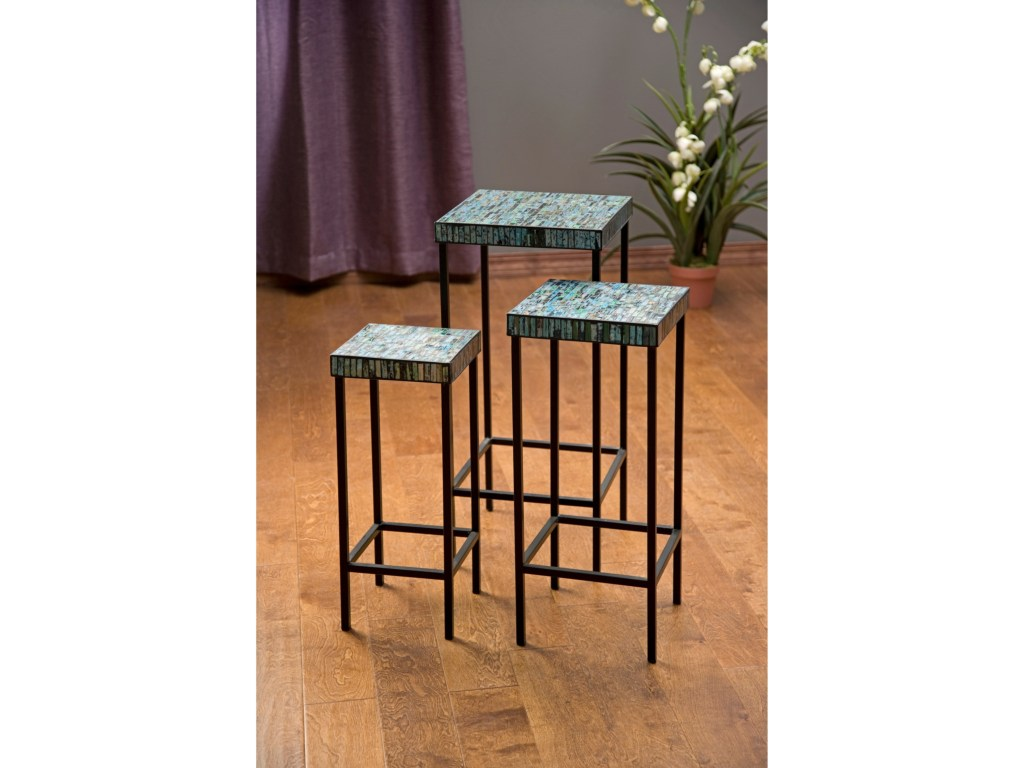 imax worldwide home accent tables and cabinets aramis mosaic products color threshold table cabinetsaramis glass set modern lamp winsome curved nightstand piece coffee unfinished