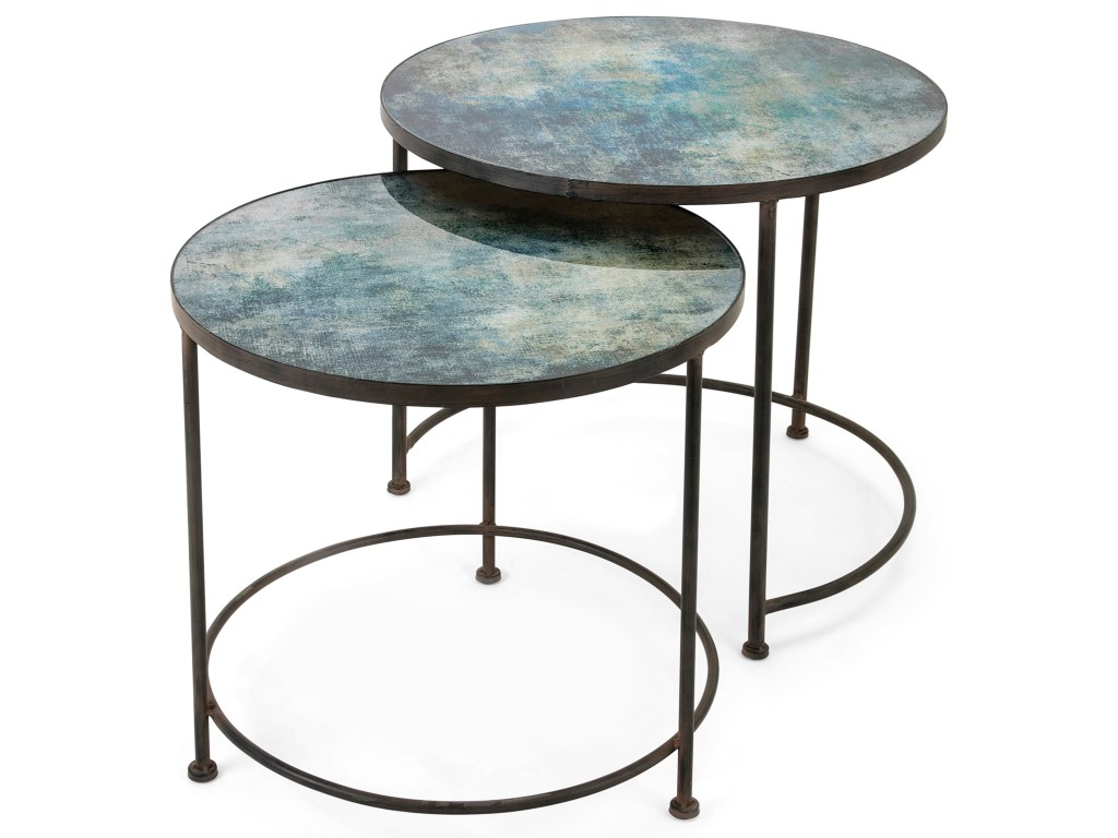 imax worldwide home accent tables and cabinets paxton metal products color vanora table printed glass set display coffee ikea diy hairpin legs low square small balcony furniture