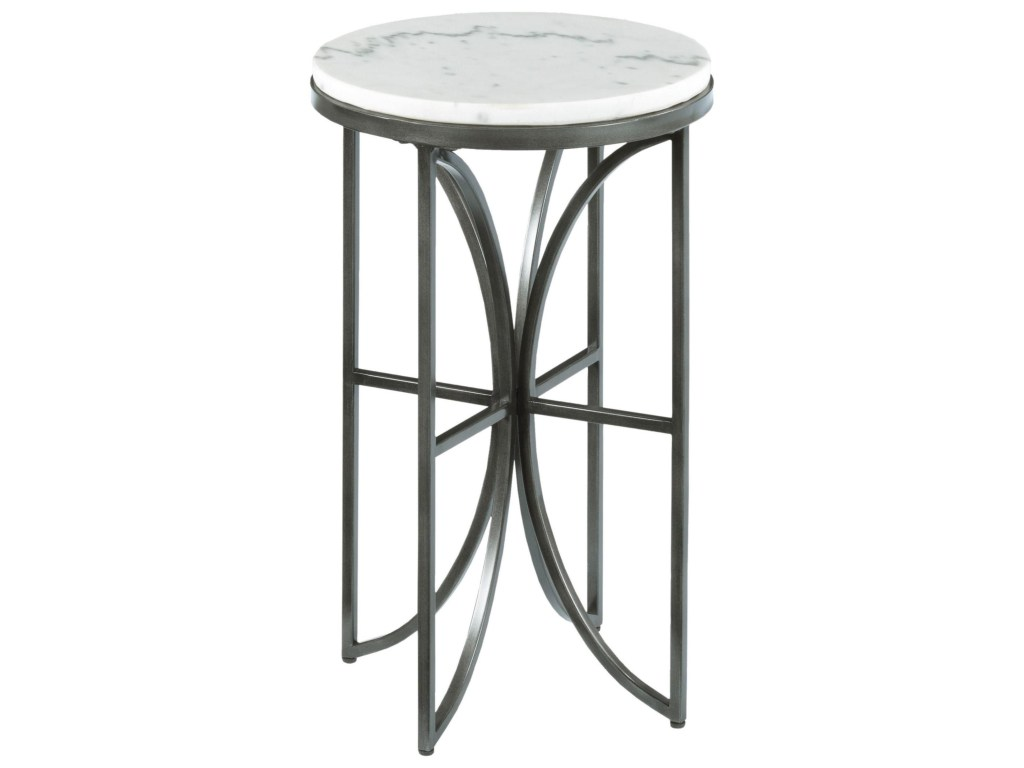 impact small round accent table with marble top morris home end products hammary color impactsmall glass pedestal side bassett dining chairs drop leaf night stand black set