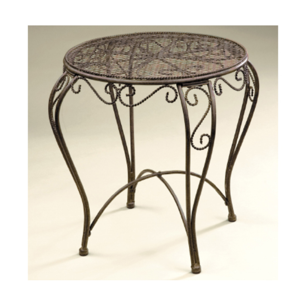 imperial round accent table garden worldgarden world metal marble nightstand target west elm throws ikea childrens storage units end inexpensive patio furniture high tables large