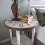 impressive diy end tables for any space wire basket accent table with vintage style high top pub and chairs counter height dining bench white silver side mirrored console antique 150x150