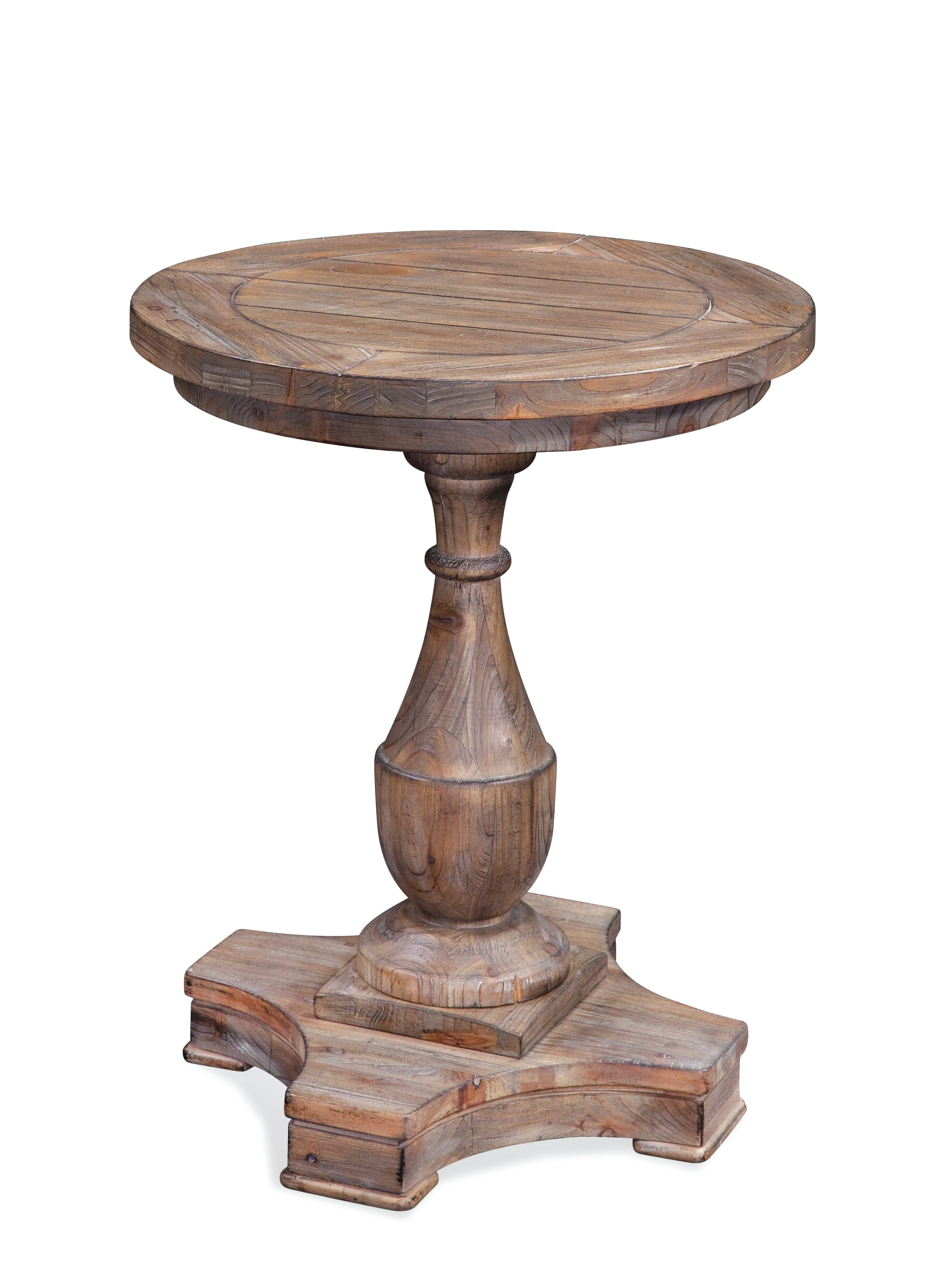 inch round end table etchemin distressed black pedestal accent gold leaf console rugs ashley furniture glass espresso entryway crescent lighting top coffee with brass legs one