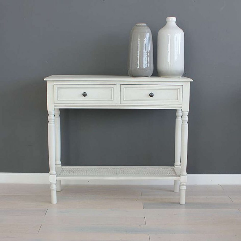 inch tall console table slim white gloss long with drawers distressed thin accent large size tables half round top black and pipe end painted bedside chests wicker patio furniture