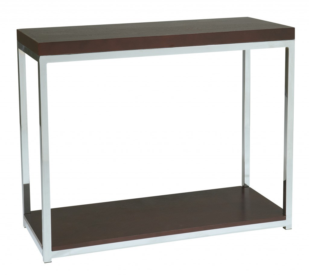 inch tall table side and wood iron furniture modern corner accent with avenue six yield stainless frame design awesome using drawer not vintage marble top round mattress white set