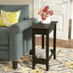 inch wide side table lucile flip top end small half circle accent quickview low square coffee target wicker furniture chairside with attached lamp round black glass industrial 150x150