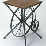industrial chic accent table from butler brass wire crate bunnings outdoor dining beer cooler coffee marble top turquoise furniture small white glass lamp umbrella stand tennis 150x150
