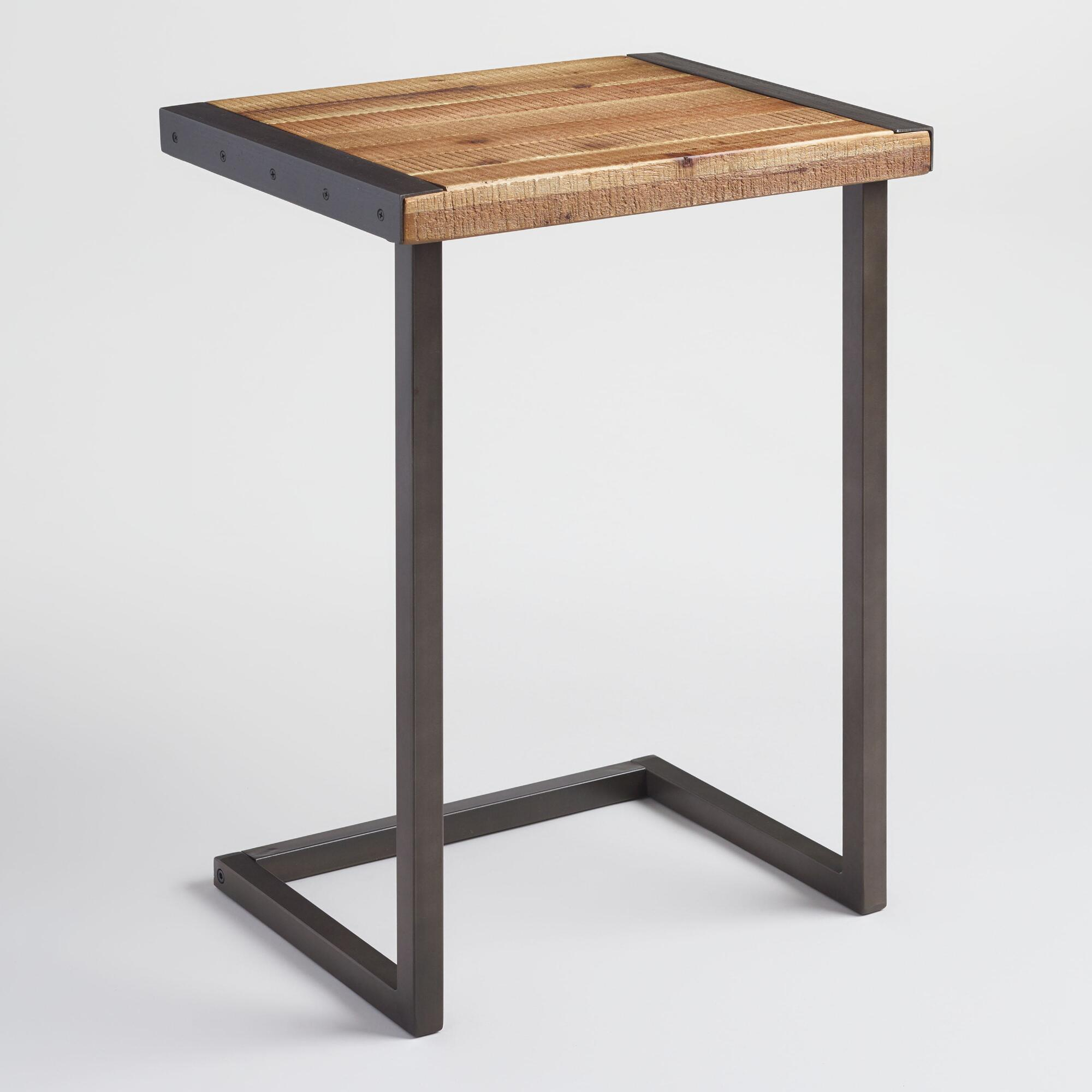 industrial furniture rustic chic world market iipsrv fcgi tall square accent table metal edge laptop desk pier imports patio glass pendant shades wooden chairs ikea kids wall