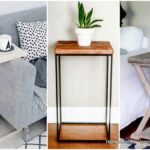 ingeniously creative diy end table for your home homesthetics small farmhouse accent smoked glass tables pottery barn entrance like dining teak side outdoor sheesham wood console 150x150