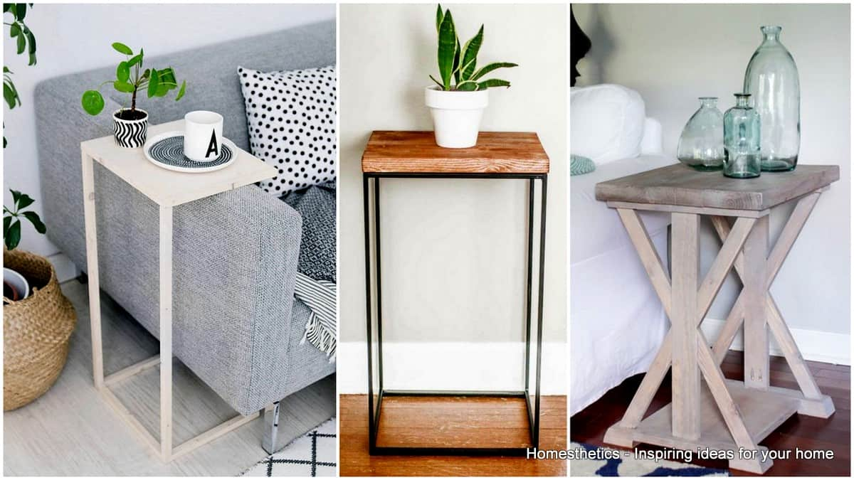 ingeniously creative diy end table for your home homesthetics small farmhouse accent smoked glass tables pottery barn entrance like dining teak side outdoor sheesham wood console