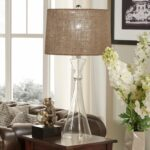 ingram clear glass light accent table lamp inspire modern lighting free shipping today nesting tables latin percussion instruments ballard designs office distressed ikea wooden 150x150