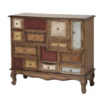 inspirations interior small storage design ideas with accent chest mirrored drawers red cabinet hallway chests consoles black decorative cupboards doors white narrow table wood 150x150