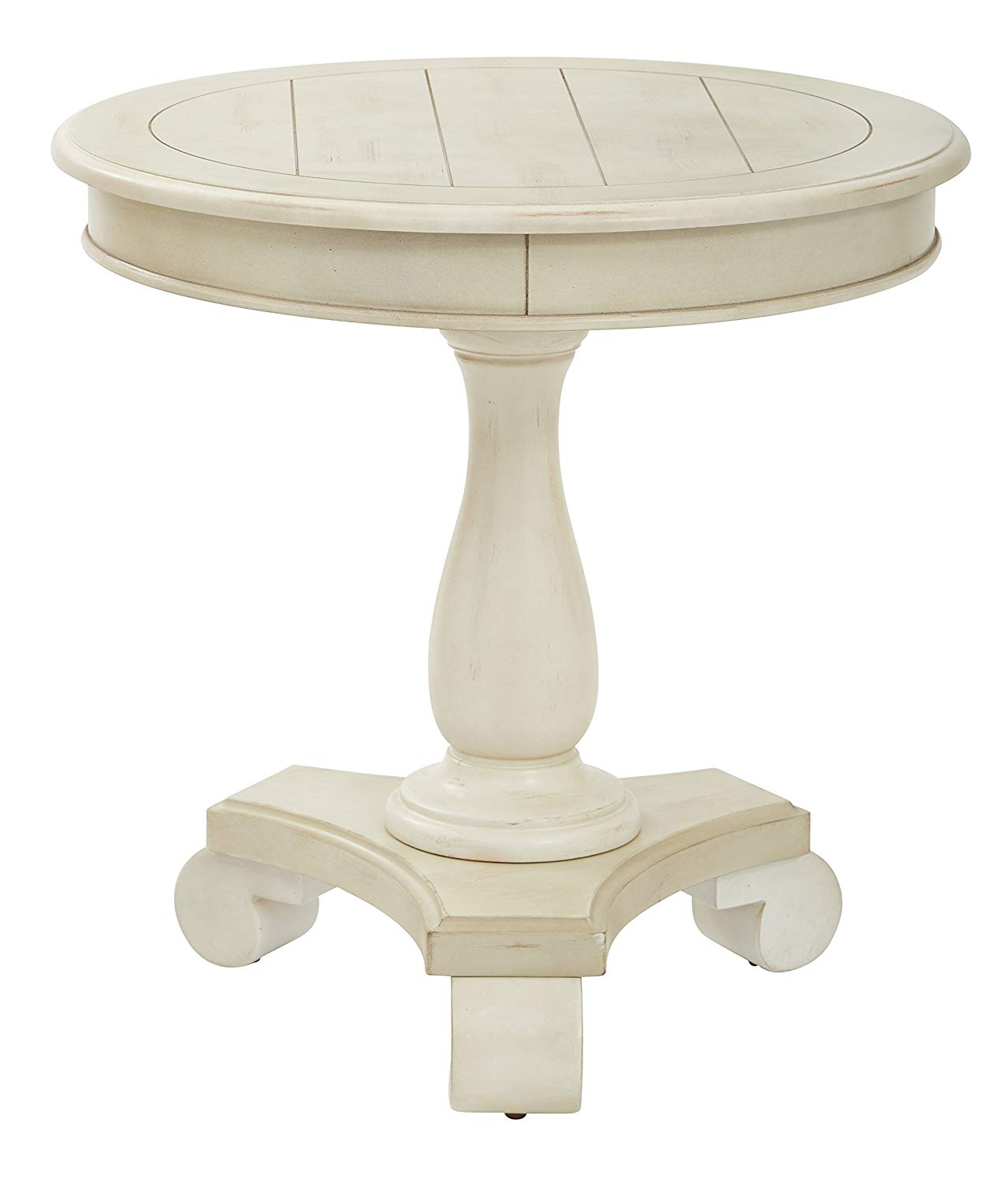 inspired bassett avlat osp avalon round low accent table antique beige kitchen dining vintage asian lamps stand bar tables with charging station west elm set black wood coffee