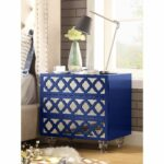 inspired home dali mdf wood modern lacquer chrome side table accent navy blue nightstand minsmere cane small cloth leick recliner wedge end diy top rustic wine cabinet sage green 150x150