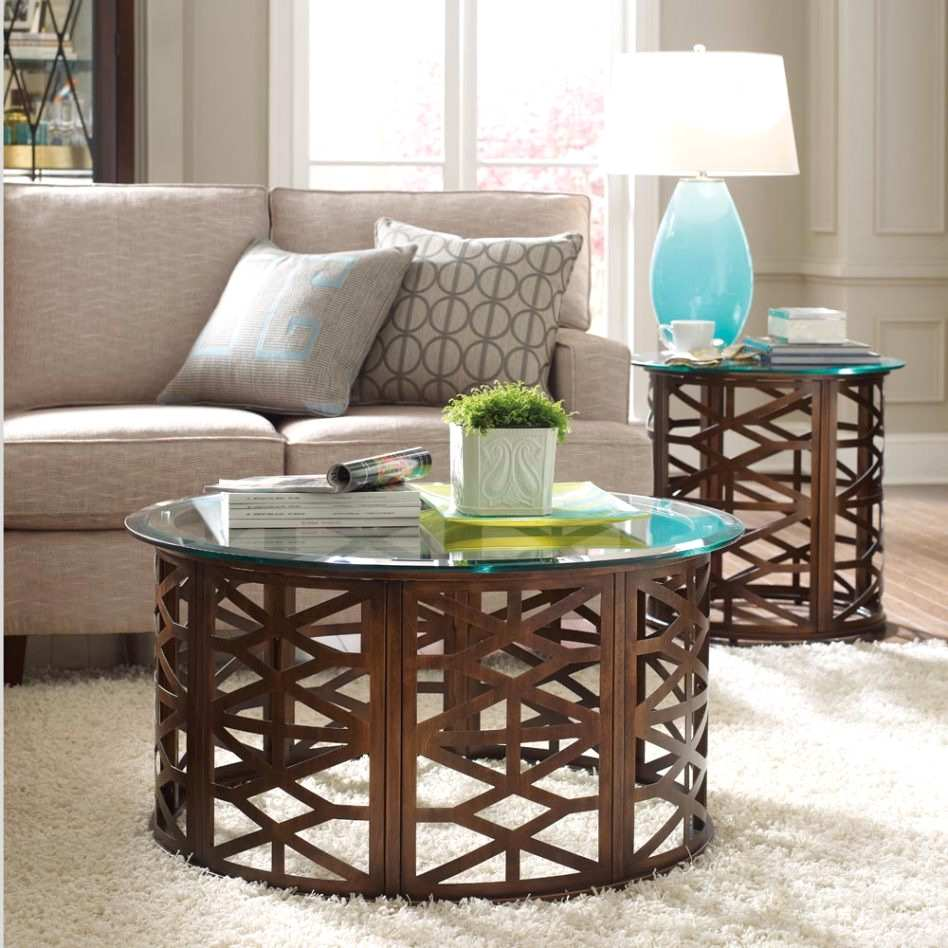 inspiring accent tables for living room furniture round wood end table decor ideasdecor ideas decorating wooden display sectional occasional chairs counter height pub set white