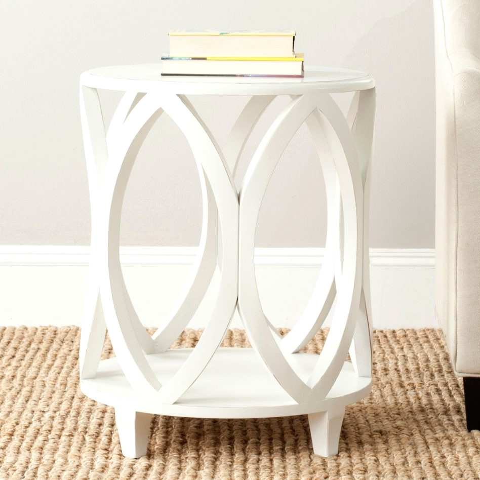 inspiring white end tables for living room furniture small corner accent table mid century modern dining and chairs patchwork armchair british designers outdoor swing chair
