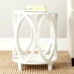 inspiring white end tables for living room furniture small corner accent table tall bookcase mosaic oversized reading chair fruit cocktail gold glitter tablecloth marble effect 150x150