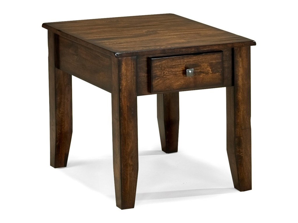 intercon kona mango end table rife home furniture tables products color rai threshold accent wood konaend cherry queen anne tiffany glass lamps beautiful headboards wide ikea