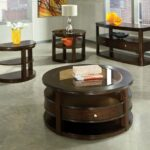 interior decorative table round end tables for bedroom glass and circle coffee sets black pedestal tall accent gallery metal maritime pendant light entry lamps yellow ginger jar 150x150