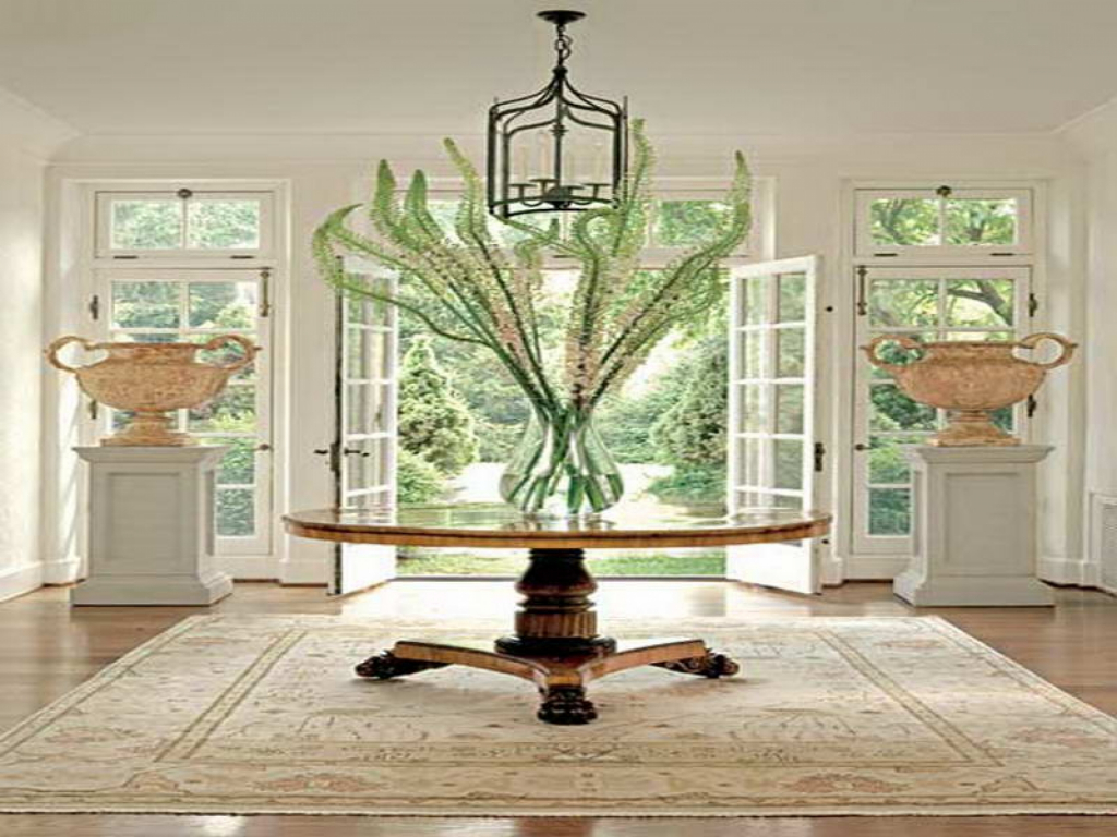 interior round foyer tables luxury pedestal table with elegant entry for decoration furniture accent console side clearance fruit cocktail recipe sliding barn door dining room