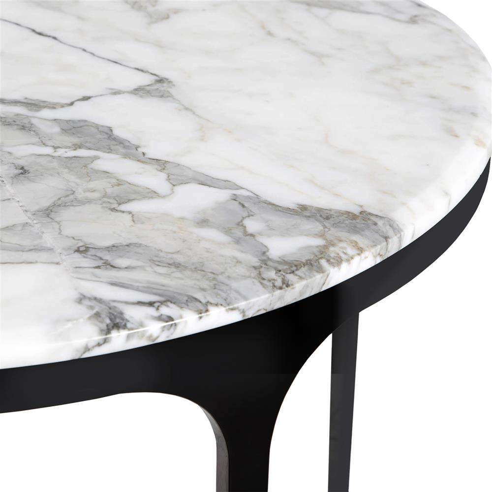interlude camilla gunmetal white marble round bistro table kathy product accent kuo home pool dining retro lounge furniture red patio chairs green circle coffee living room