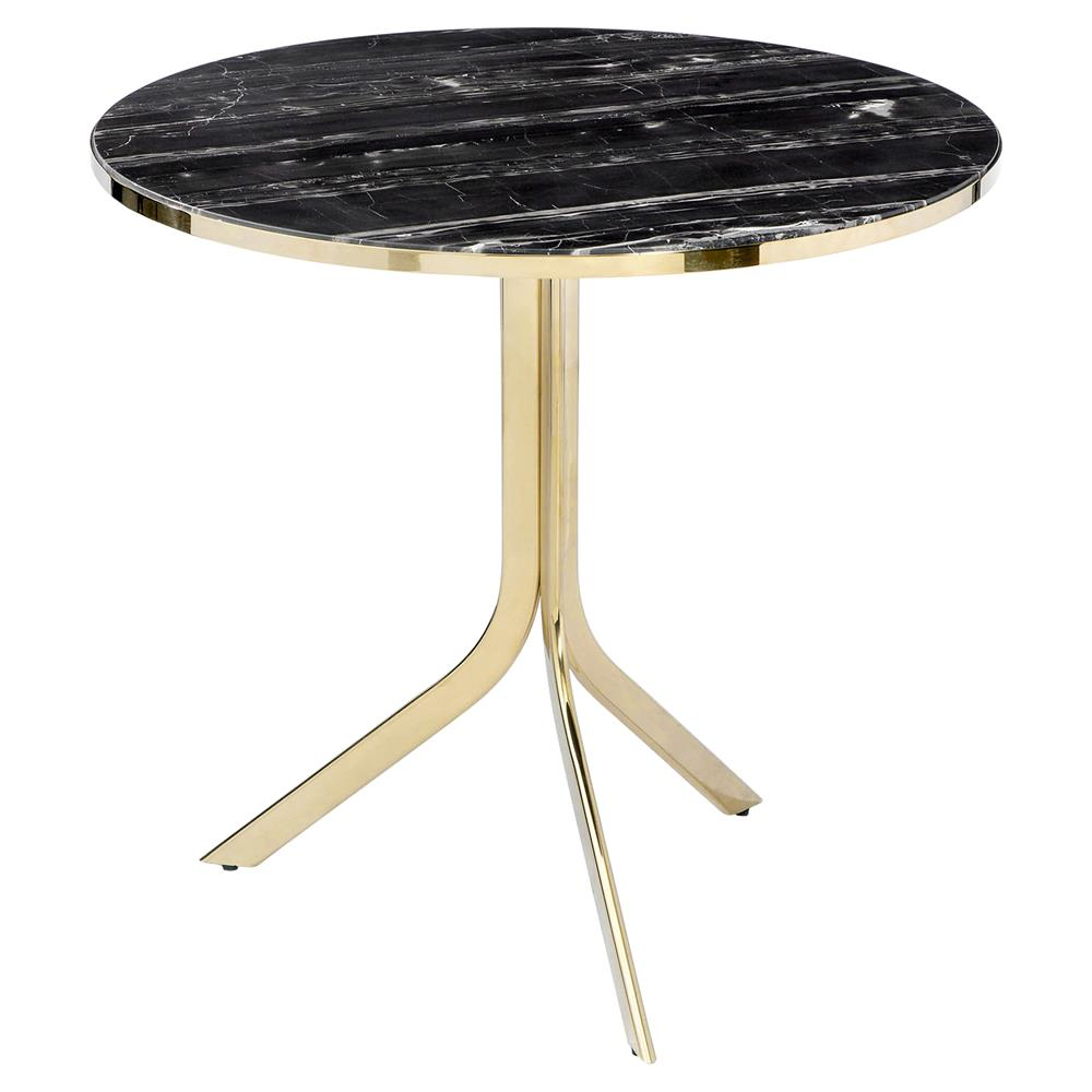 interlude carina modern gold black marble folding bistro table product accent kathy kuo home kitchen accents dishes world market lamp shades decor edmonton round bedside covers