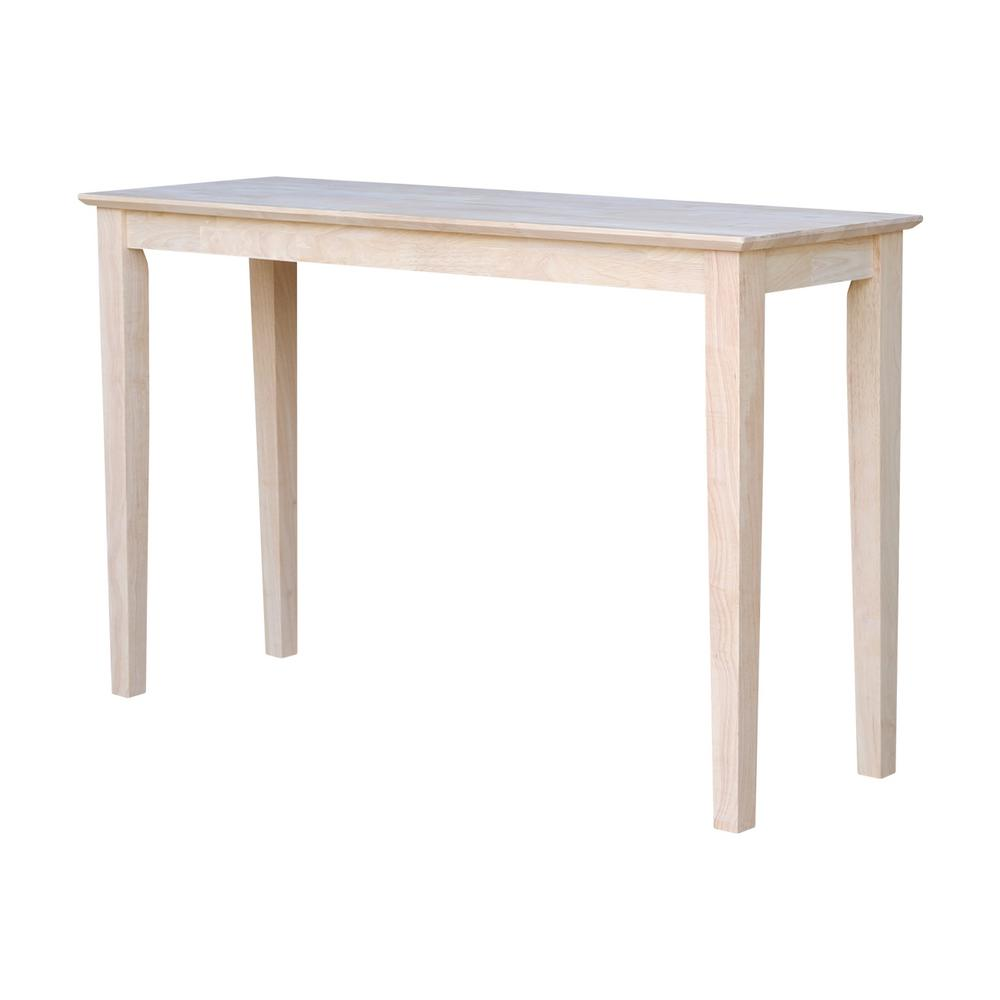 international concepts accent tables living room furniture the unfinished console bombay company marble top table shaker small office desk mid century kidney coffee outdoor chairs