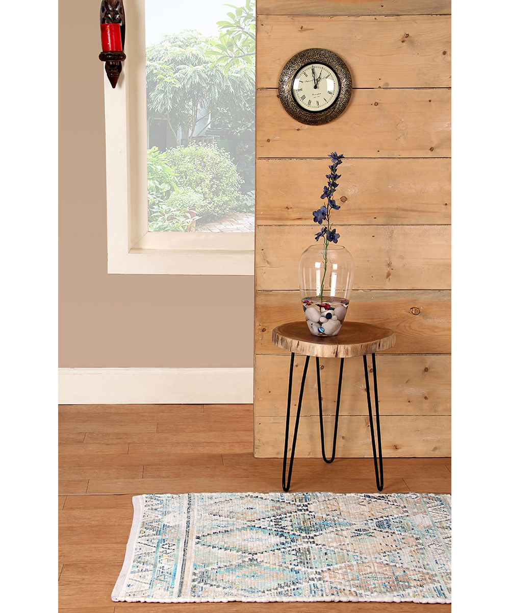 intrade global acacia wood round accent table set two zulily alt brown alternate bunnings umbrella big umbrellas for shade mid century modern kitchen transition bars laminate