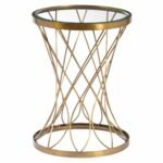 iron base construction brass metal accent table with gold kmart marble kitchen dining sets extendable farmhouse teal chair groups vintage wood side lamp outdoor sectional cover 150x150