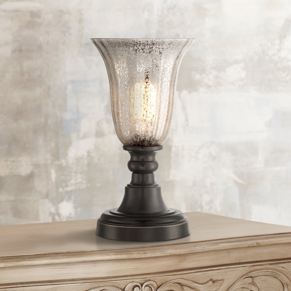 isaac mercury glass high accent table lamp uplight lamps pedestals centerpieces reclining patio chairs bar height dining set best end tables outdoor timber dragonfly stained