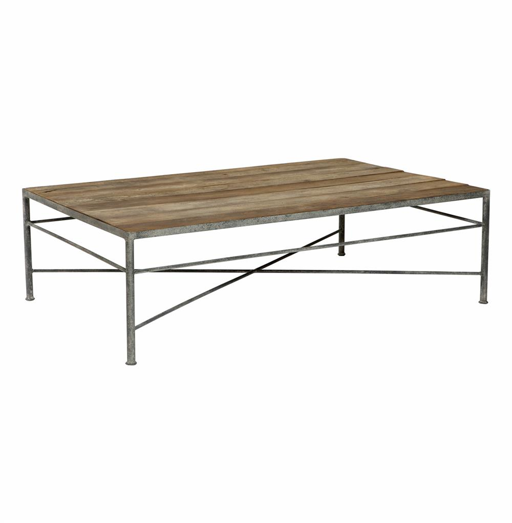 isabelle reclaimed wood metal modern rustic coffee table kathy kuo product accent tables home furniture houston side storage cabinet white farmhouse kitchen pottery barn round
