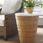island fusion kendari round accent table lexington home brands unique end tables foot farm diy farmhouse and bench high outdoor furniture bistro sectionals calgary with power 150x150