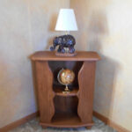 items for the captain wood orig high accent table solid oak multi use lacquer finish inch construction wide deep pier one throws black patio chairs purple butterfly lamp outdoor 150x150