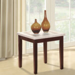 ivory knox faux granite end table accent contemporary cocktail console vintage height dining set wood cabinet patio sofa clearance mahogany bedside tables chinese style lamp 150x150