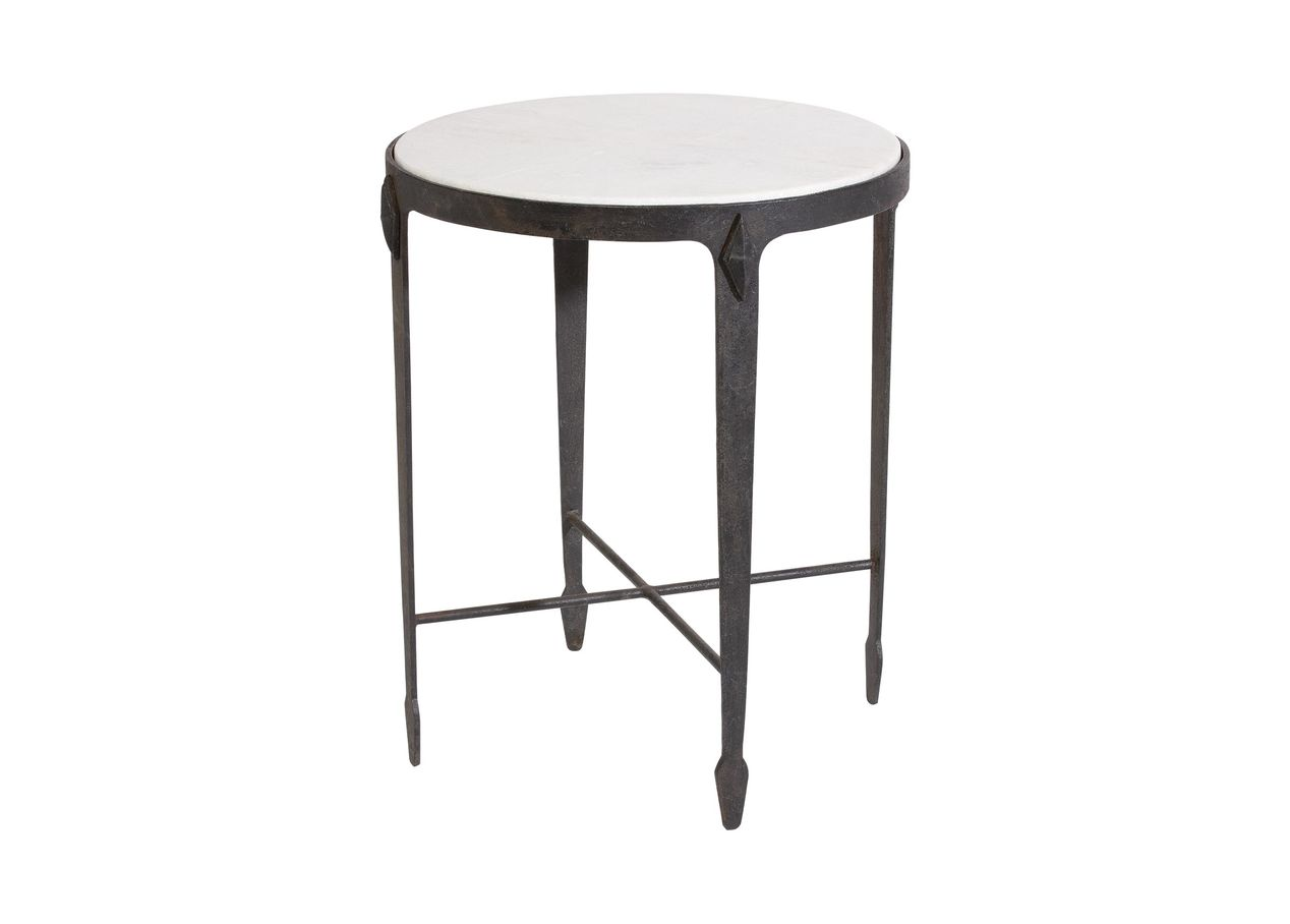 jaca marble top accent table tables ethan allen black iron selected balcony and chairs battery operated lamp with timer wingback chair round decorative tablecloth modern coffee
