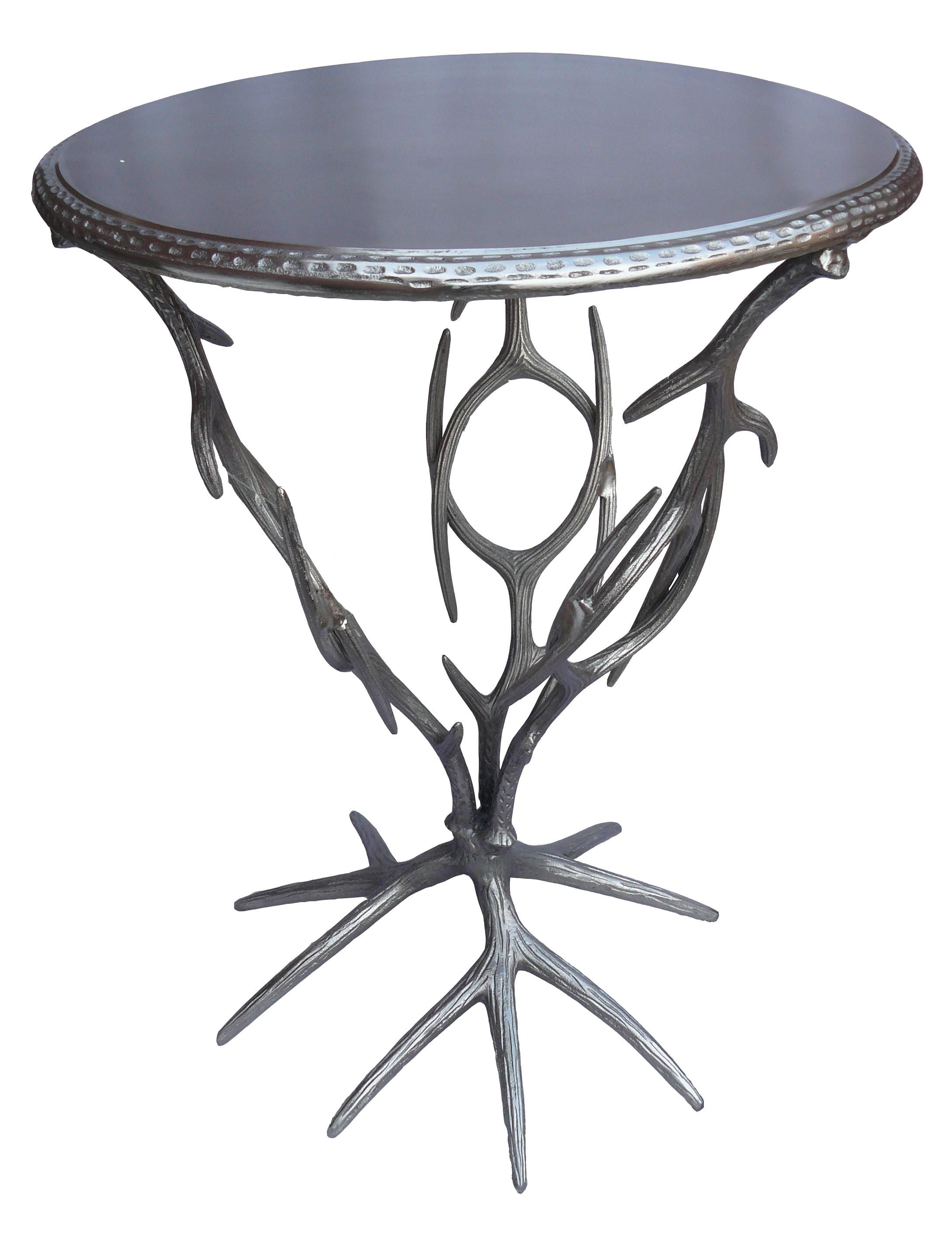 jadu accents metal tree branch accent table furniture wooden tray dark wood occasional tables entryway bench acrylic antique looking end mirage mirrored farmhouse style dining
