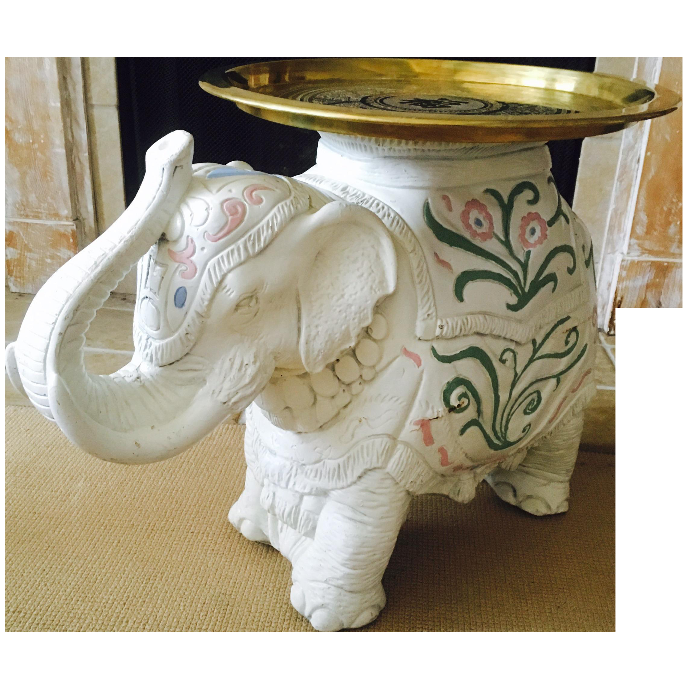 jaipur elephant festival coffee table inspiration tables chinoiserie side chairish accent drop leaf kitchen red round end outdoor umbrella cantilever small marble circular