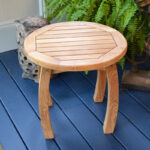 jakarta teak wood side table tortuga outdoor lack blue accent small ikea bedside design ideas sofa with matching end tables tray burgundy runner brown wicker lawn furniture cool 150x150