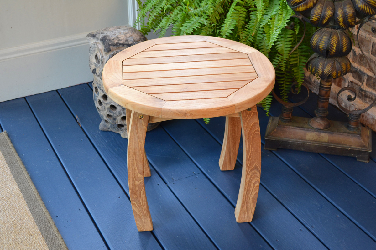 jakarta teak wood side table tortuga outdoor lack blue accent small ikea bedside design ideas sofa with matching end tables tray burgundy runner brown wicker lawn furniture cool
