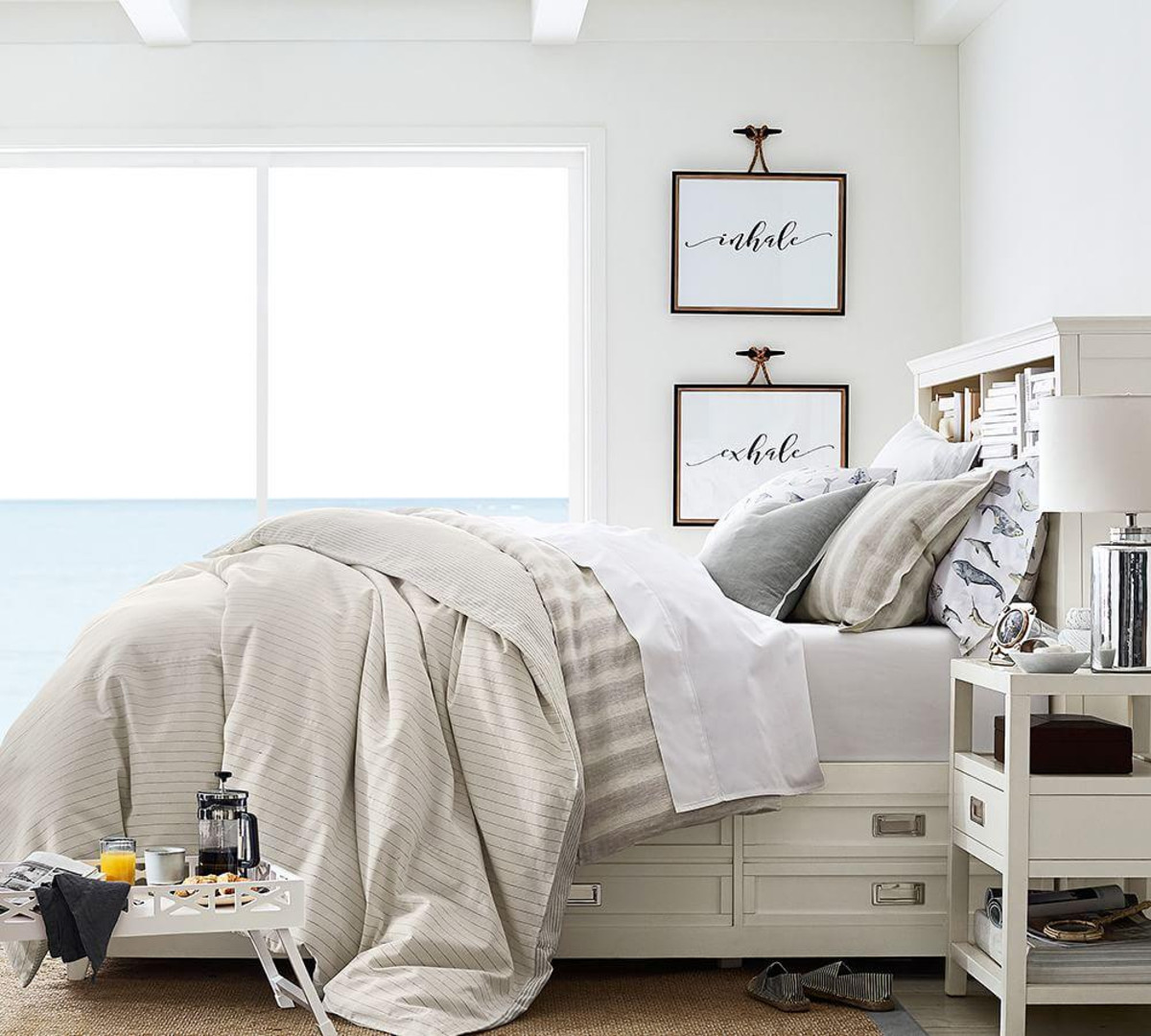 jamie stripe linen cotton duvet cover sham flax pottery barn media accent table amp wells chair white slim side silver metal pine night stand black and nest tables pier ornaments