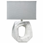 jamie young company quarry marbled ceramic one light table lamp accent hover zoom placemats shelby chest home office decor ideas best items fine furniture edmonton college dorm 150x150
