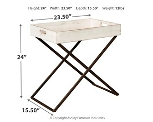 janfield antique white accent table tables rustic round skirts decorator gingham tablecloths acrylic coffee small gas grill counter height bench resin patio end red cover metal