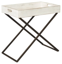 janfield antique white accent table tables summer outdoor clearance target threshold lamp black and cream rug touch bedside lamps teak odd coffee stainless steel kitchen island