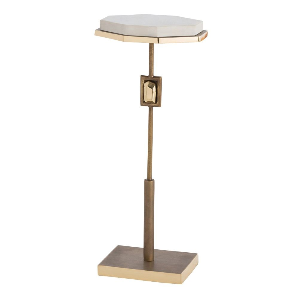jay jeffers for arteriors fitzgerald accent table small white british furniture designers outdoor storage end chrome and glass coffee home library crystal lamp black gold modern